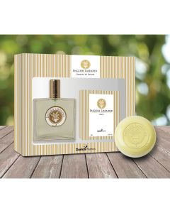 Kit Feminino Olore Paris com Perfume + Sabonete em Barra English Lavender