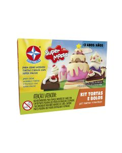 Super Massa Kit 1 - Tortas e Bolos