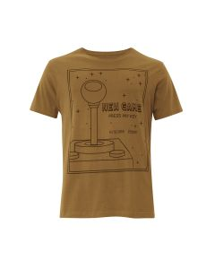 Camiseta Masculina Silk New Game Press Any Key