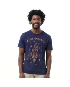 Camiseta Masculina Ride To Space