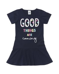 Vestido Infantil Good Things are Coming - 04 a 10 anos
